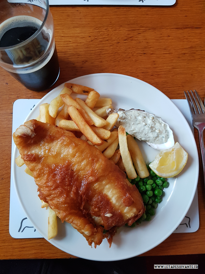 Fish and chips, un plat so British !